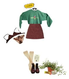 """""""riot!"""" by the-cheap-bouquet ❤ liked on Polyvore featuring Isa Arfen, Fogal, Chanel, Myla and NYMPHENBURG"""