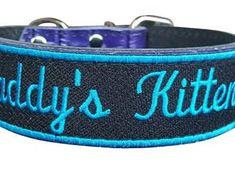 Iridescent Sassy Space Kitten Choker Necklace