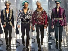 John Galliano Men's Fall 2011/12 Runway, Paris Menswear Fashion Week