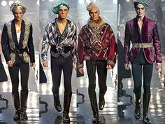 John Galliano Men's Fall 2011/12 Runway, Paris Menswear Fashion Week