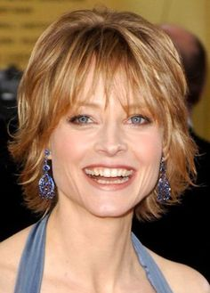 Short Wedge Haircuts with Bangs | layered hairstyles with bangs for women over 50
