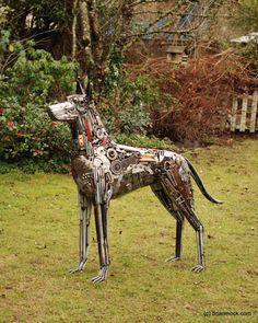 DOG made from 100% recycled material - by Brian Mock