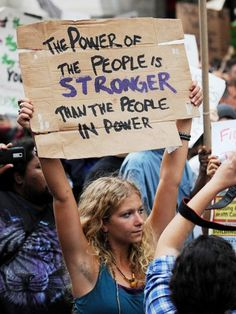 Designer: N/A Found in: Protest Signs I think the handwritten text makes the message more powerful and meaningful- that this is personal. Power To The People, We The People, Les Suffragettes, Handwritten Text, Hippie Man, Hippie Life, Hippie Chick, Change The World, Belle Photo