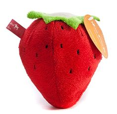 Pet Supplies : The Best U Want Cute strawberry bite abrasion resistant plush toys molar tooth cleaning dog toy pet toys villi will sound audible toy dogs and cats : Amazon.com