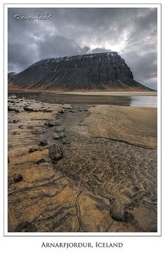 Cracked Gold, Arnarfjordur, Iceland | Flickr - Photo Sharing!