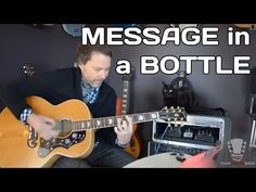How to play Message in a Bottle by The Police - Acoustic Guitar Lesson