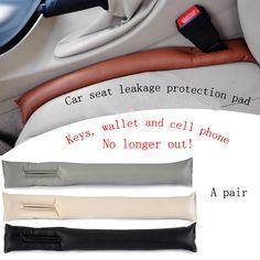 1 UNID un bolo de cuero de LA PU cojín del asiento de coche cubierta de protección de la salida, plug-in de coche aclaramiento asiento decoración interior prod