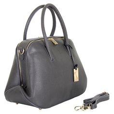 Marlafiji Loz Grey Italian leather handbag www.marlafiji.com FREE SHIPPING WITHIN AUSTRALIA