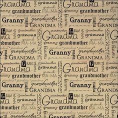 "Dinglefoot's Scrapbooking - Grandma 12"" x 12"" Vellum Scrapbook Paper, $0.75 (http://www.dinglefoot.com/grandma-12-x-12-vellum-scrapbook-paper/):"
