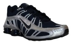 nike mens shox turbo 3.2 sl running shoes 455541 440 obsidian silver size 9.5