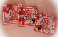 Sweeet Designs By Cheryl: CottageCutz Mushroom House/All Occasion Cards