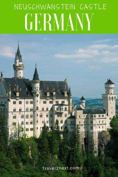 Neuschwanstein Castle is a fairytale castle that can be visited from Munich on a day trip. Here are 5 Bavarian Castles that you'l love. Bavaria is the royal realm of kings and castles. Countries Around The World, Around The Worlds, Germany Castles, Neuschwanstein Castle, Fairytale Castle, European Travel, Bavaria, Day Trip, Fairy Tales