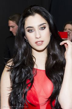 Lauren Jauregui (Fifth Harmony) – Photographed by VITAL AGIBALOW for RED FOR WOMEN – RED DRESS FALL WINTER 2015 COLLECTIONS MERCEDES-BENZ FASHION WEEK in New York | http://www.vitalagibalow.com