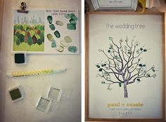 Awesome idea for special occasions...wedding, engagement party, family tree, adoption party/fundraiser/prayer and support group, the list goes on and on