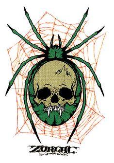 Zorlac Metallica Spider