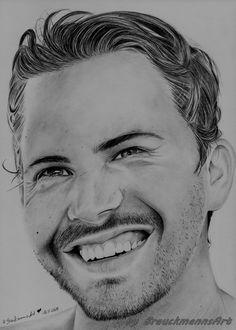 Paul Walker  pencil drawing on 24x30  https://www.facebook.com/BrauckmannsART