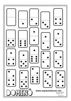 Jogo de dominó para imprimir e brincar com as regras do jogo! - ESPAÇO EDUCAR