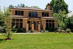 Spanish and Mediterranean sidings furnish the house a united aura of both East and West.