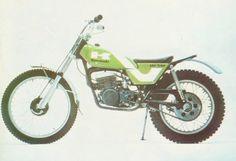 .1974 Kawasaki KT250 Observed Trials Machine