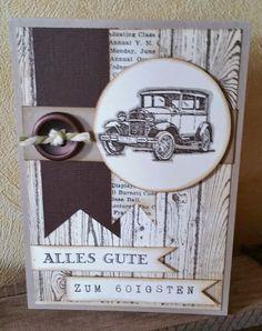 Corina´s Stempel- und Bastelwerkstatt: Auftragskarte für meinen Mann