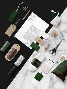 <p>Polish branding designer Sebastian Bednarek just releases his latest work for tailor goods brand, Malik Bros. A lovely earthy tone color…