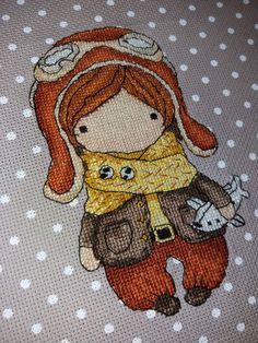Cross Stitch work by Anna-Wioletta Cybulska