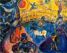 The circus - Marc Chagall