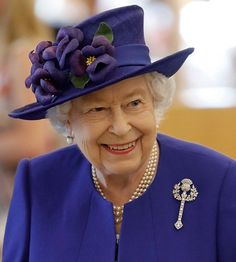 """The Royal Family: """"A message of condolence from Her Majesty The Queen on the passing of His Majesty Sultan Qaboos bin Said al Said. Swipe to read the message…"""" Queen Elizabeth Jewels, Fascinator, Scotland National Flower, Queen Liz, Queen Outfit, Queen Of England, Windsor England, Princess Alexandra, Royal Tiaras"""