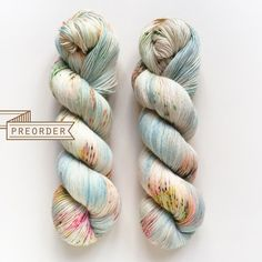 PREORDER Taiga Hand Dyed Yarn Fingering Weight by DruzyRising
