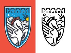 Dribbble - Pegasus by Nick Slater