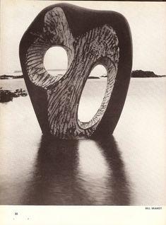 Barbara Hepworth bronze sculpture in the surf Abstract Sculpture, Sculpture Art, Pottery Sculpture, Sculptures Céramiques, Barbara Hepworth, Stone Sculpture, St Ives, Land Art, Photomontage