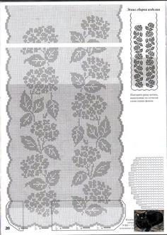 Kira scheme crochet: Scheme crochet no. 1063