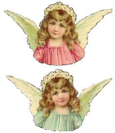 Vintage Paper Dolls, Vintage Crafts, Vintage Ephemera, Vintage Art, Vintage Christmas Images, Victorian Christmas, Vintage Pictures, Vintage Images, Christmas Angels