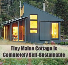 Tiny+Maine+Cottage+is+Completely+Self-Sustainable