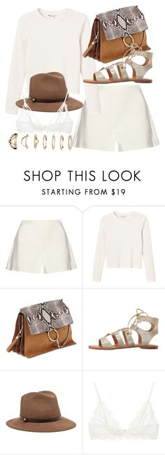 """Untitled #21362"" by florencia95 ❤ liked on Polyvore featuring Giambattista Valli, Monki, Chloé, Dolce Vita, rag & bone, Anine Bing and Forever 21"