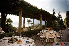 Wedding photographer: Bellagio & Varenna, Lake Como, Italy: Frank & Katherine by Wedding Reception, Wedding Venues, Wedding Ideas, Comer See, Lake Como Wedding, Italy Wedding, Wedding Couples, Scenery, Villa