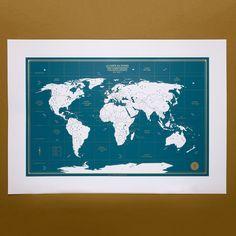 VOYAGE VOYAGE PRENDS TA BOUÉE - PRENDS LE LARGE Fabriqué en France, à Lyon avec tout notre amour !- sérigraphie artisanale- couleurs bleu canard