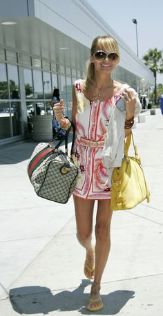 Nicole Richie....want that Gucci bag!