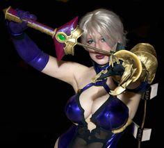 BelleChere as Ivy Valentine  Series: Soul Calibur V