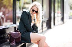 Summer Style | denim skirt | embroidered skirt | slogan Tee | Chloe Hudson | Levis | Denim cut offs | mediamarmalade