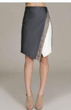 $36 Asymmetrical Layered Skirt – Maddox