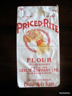 Vintage Flour Sack Grain Sack, Feed Sacks, Cotton Bag, Vintage Signs, Doilies, Potato Sacks, Flour Sacks, Burlap, Grains