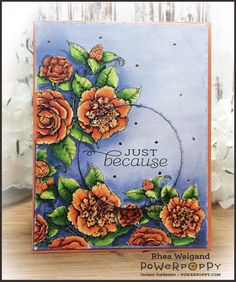 Power Poppy - The Blog: Inspire Me Monday: Coloring Camellias using the Color Wheel