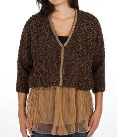 Gimmicks by BKE Marled Cardigan Sweater