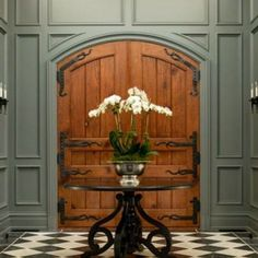 Home Interior Entrance .Home Interior Entrance Foyer Design, Design Entrée, House Design, Design Styles, Decor Styles, Design Trends, Interior Design Inspiration, Home Interior Design, Interior Decorating
