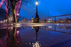 """South Bank Puddle"" London, UK. Image by David Gutierrez Photography, London Photographer specialising in architectural, real estate, property and #interior photography.   http://www.davidgutierrez.co.uk   #realestate #property #commercial #architecture #London #Photography, #Photographer. #Art #UK #City #Urban  #ロンドン #伦敦 #런던 #лондон #Londres #Londra #Londyn #England #UnitedKingdom #Street  #Beautiful #SouthBank #BigBen #LondonEye #Rain"