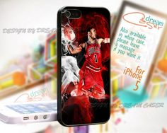Derrick Rose MVP Chicago bulls - Print On Hard Case For iPhone 5 Case