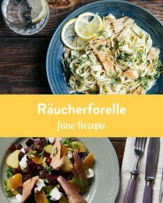 Gesund kochen mit Räucherforelle Marley Spoon, Risotto, Ethnic Recipes, Food, Fresh, Dinners, Easy Meals, Health, Rezepte
