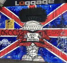 Street art #greatbritain #londoncity #streetart #seetheworld #traveltheworld #beautifulplace #globetrotter #travelblog #traveladdict #instatravel #instalike London City, Great Britain, Spiderman, Street Art, Beautiful Places, Comic Books, World, Travel, Fictional Characters