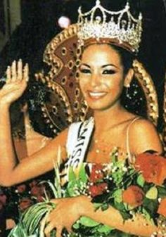 Carolina Indriago was the first Afro queen to win the Miss Venezuela Pageant in 1999.